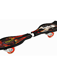 ABS Kid's Caster Boards Ruby Blue