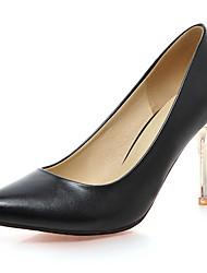 Damen-High Heels-Büro / Kleid / Lässig / Party & Festivität-Kunstleder-Stöckelabsatz-Absätze / Pumps / Spitzschuh-Schwarz / Blau / Rosa /