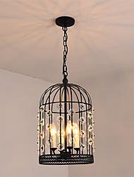 Max 60W Luzes Pingente ,  Tradicional/Clássico / Rústico/Campestre / Vintage / Retro / Lanterna / Rústico Pintura Característica for