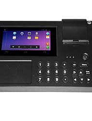 pagamento NFC leitor consumo de terminal da máquina POS, impressão de bilhetes térmica pequena leitura óptica
