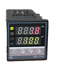 controlador de temperatura (faixa de temperatura de 0 ~ 1372 ° C; ac-220v)