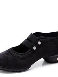 Sapatos de Dança(Preto / Verde / Vermelho) -Feminino-Não Personalizável-Moderna