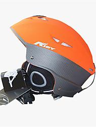 Универсальные шлем Л: 58-61CM Спортивные Ультралегкий (UL) Фиксированный 14 CE EN 1077 Снежные виды спорта / Лыжи ОранжевыйПоликарбонат /