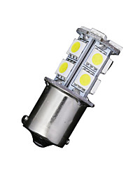 2 x brancas 1156 BA15S 13-SMD 5050 levou lâmpadas virar sinal de inversão de backup