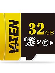 YISEN 32 Гб Карточка TF Micro SD карты карта памяти UHS-I U1 Class10