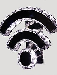 ecolight® cristal conduit wifi / appliques en cristal / led moderne / contemporain / lit / séjour / hôtel / métal