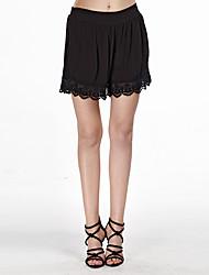 Femme Short Pantalon