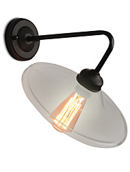 Loft Style Retro Bedside Wall Lights Glass Edison Vintage Wall Lamp For Living Room Stairs Sconce Indoor Lighting