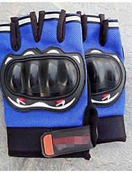 Men's Semi Finger Gloves, Outdoor Motorcycle Riding Gloves