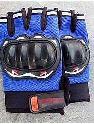 demi gants de doigts des hommes, des gants de conduite de moto en plein air