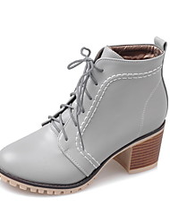 Women's Boots Fall / Winter Heels / Riding Boots / Fashion Boots / Bootie / Comfort / Combat Boots / Round Toe Leather /