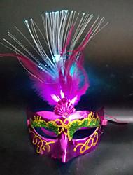 1PC Led Random Color Christmas Hallowmas Ball Stage Modern Fancywork Mask Night Light