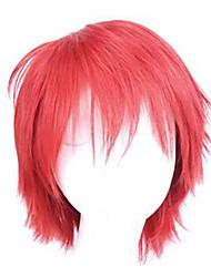 Cosplay Perücken Assassination Klassenzimmer Cosplay Rot Kurz Anime Cosplay Perücken 20 CM Kunstfaser Mann