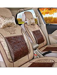 Summer Bamboo Cool Mat Cushion Car Seat Cover Papyruses Linen Cushion Auto Supplies