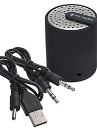 multi fonction Bluetooth Mini cylindre de haut-parleurs stéréo Bluetooth voiture de haut-parleurs audio portable