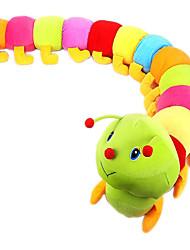 красочные гусеница плюшевой игрушки куклы кровать детский день рождения