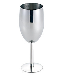 Stainless Steel Red wine Wine Glasses Goblet Cup Stemware Bar Restaurant