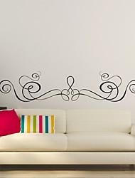 AYA™ DIY Wall Stickers Wall Decals, Flower Rattan Type PVC Panel Wall Stickers 25*120cm
