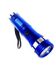 Lights LED Flashlights/Torch LED 50 Lumens 1 Mode LED AAA Emergency Camping/Hiking/Caving / Everyday Use Aluminum alloy