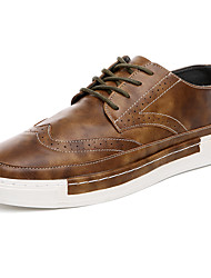 Skateboarding Shoes / Running Shoes / Casual Shoes Men's Anti-Slip / Wearproof Low-Top Leisure Sports