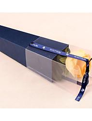 день ПВХ один цветок упаковки бумажный материал Валентина розы коробка сверху импорт сорта розы упаковка коробка