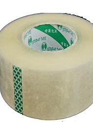 Factory Direct 5.5Cm Flesh 25Mm Sealing Tape Wholesale Courier Transparent Sealing Plastic Bandwidth