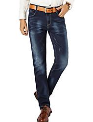Men's Solid Casual Suits,Cotton Blue CY306