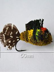 """500 pc Esche rigide Fantasma 5 g/1/6 Oncia,50 mm/2-1/8"""" pollice,Piume Pesca a mulinello"""