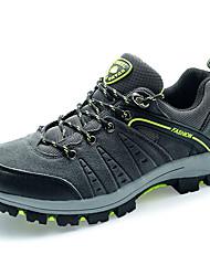 Коричневый / Зеленый / Серый-Мужской-На каждый день-Полиуретан-На плоской подошве-Удобная обувь-Кеды