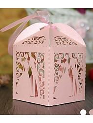 Caixas de Presente(Uva / Rosa / Branco,Papel de Cartão)Tema Clássico-não-personalizado