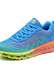 Running Shoes Men's Sneakers Spring / Fall Comfort Fabric Casual Flat Heel  Blue / Green / Red Walking