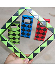 / Cubos Mágicos Quadro Mágico / Cube velocidade lisa Arco-Íris Plástico Brinquedos