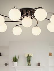 Montage du flux ,  Contemporain Rustique Peintures Fonctionnalité for Style mini MétalSalle de séjour Chambre à coucher Salle à manger