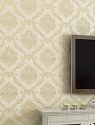 Contemporary Wallpaper Art Deco 3D European Big Flower Wallpaper Wall Covering Non-woven Fabric Wall Art