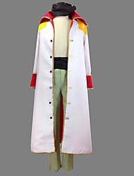 Inspired by One Piece Edward Newgate Anime Cosplay Costumes Cosplay Suits Patchwork Coat Pants Belt For Male