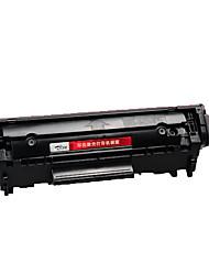facile d'ajouter des cartouches de poudre pour hp hp1020 M1005 HP1010 1018 12a