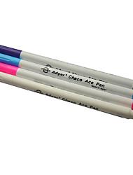 air effaçable stylo plume stylo plume Fade Fade violet blanc tête épaisse rose-bleu