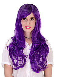 Purple gradually long hair wig.WIG LOLITA, Halloween Wig, color wig, fashion wig, natural wig, COSPLAY wig.