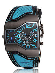 The Movement Type Double Drive Men Personality Quartz Watch