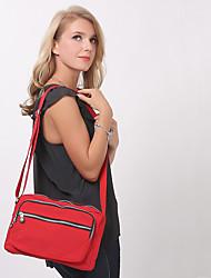 BAOBAOBAOSHI® Women Nylon Shoulder Bag Red / Black-155479