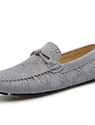 Men's Loafers & Slip-Ons Spring / Summer / Fall Moccasin Suede Office & Career / Party & Evening / Casual Blue / Gray / Coffee