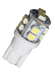 4 x branco super t10 10 LED SMD interior do carro lâmpadas 168 194 2825 921 161 912