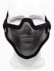 Black Color Other Material Protection Accessories Outdoor War Games Protective Mask