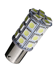 2x cool white 1156 BA15S 27-SMD 5050 LED-Lampen Backup Rückwärts 7506 1141