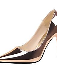 Feminino-Saltos-Saltos / Bico Fino / Bico Fechado-Salto Agulha-Preto / Vermelho / Branco / Prateado / Dourado / Champagne / Bronze /