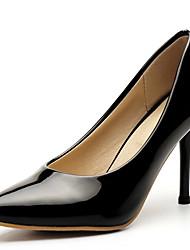 Damen-High Heels-Büro / Kleid / Lässig / Party & Festivität-Kunstleder-Stöckelabsatz-Absätze / Pumps / Spitzschuh-Schwarz / Lila / Rot /