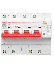 Miniature Circuit Breaker 4P Dz47Le-125 Intelligent Leakage Protection Circuit Breaker