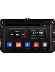 "ownice 8 ""1024 * 600 android 4.4 Quad Core carro dvd para touran jetta polo golf vw gps de rádio Wi-Fi 16g rom"