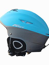 AIDY® Capacete Unisexo Capacete Desporto neve Ultra Leve (UL) / Esportivo Capacete de Segurança Azul Capacete de neve CE EN 1077 PC / EPS