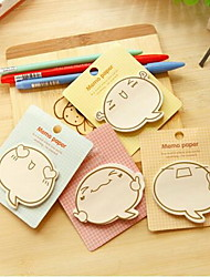 Stationery Cute Cartoon Faces N Times Paste Sticky Notes Guest Article (Random Color)